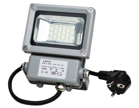 Lumira LED SMD Fluter Scheinwerfer, 10 Watt, Außenstrahler, Flutlicht Strahler, Warmweiß für 9,95€ @ Allyouneed