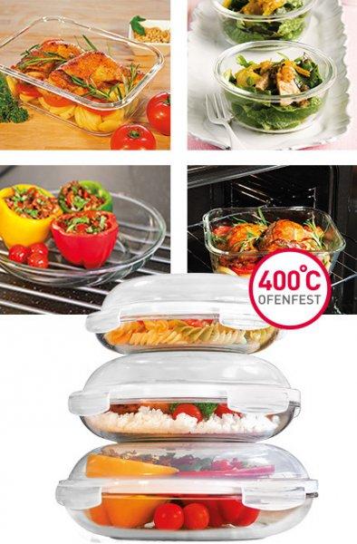 {GROUPESALES} Lock'n'Lock-Glas-Aufbewahrung-Sets für 24,94€ (incl. 4,95VK) = ansatt 48,82€ (idealo)