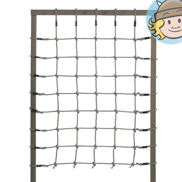Kletternetz für Kinder (150 x 200 cm) mit handgeknüpften Knoten für 22,85€ @ Amazon.de