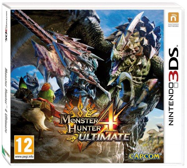 [Amazon.fr] Monster Hunter 4: Ultimate für Nintendo 3DS für 22,63€