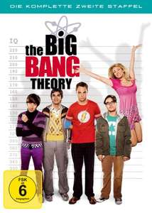 [Amazon WHD-Prime] The Big Bang Theory - Die komplette zweite Staffel (4 DVDs) für 3,21€
