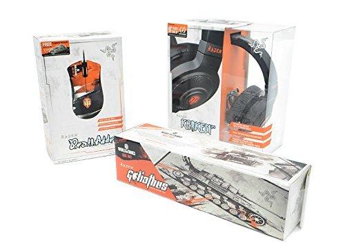[Amazon WHD] Mouse Razer DeathAdder + Headset Razer Kraken Pro + Mousepad Razer Goliathus in der World of Tanks Edition