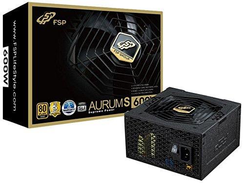 [Amazon] Netzteil FSP Aurum S 600, 80Plus GOLD, 600W
