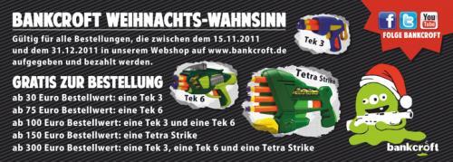 Bankcroft.de - Weihnachtswahnsinn: Nerf Guns - Dart Tag Blaster (Stromberg 5. Staffel)
