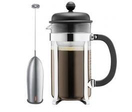 Bodum Kaffeebereiter Caffettiera Set für 8 Tassen + Milchaufschäumer für 19,79€ @Voelkner