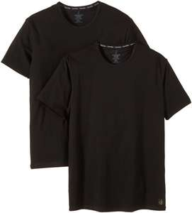 CK ONE - Cotton Stretch T-Shirts in schwarz - Doppelpack ab 17 € @Amazon statt Google Shopping ab 30 €
