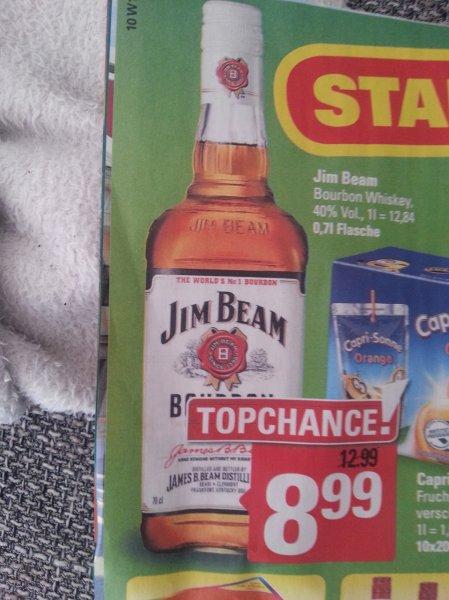 (Marktkauf) - keine Ahnung ob nur Lokal in Meppen Jim Beam 0,7 Liter für 8,99 Euro, bis 04.07.15