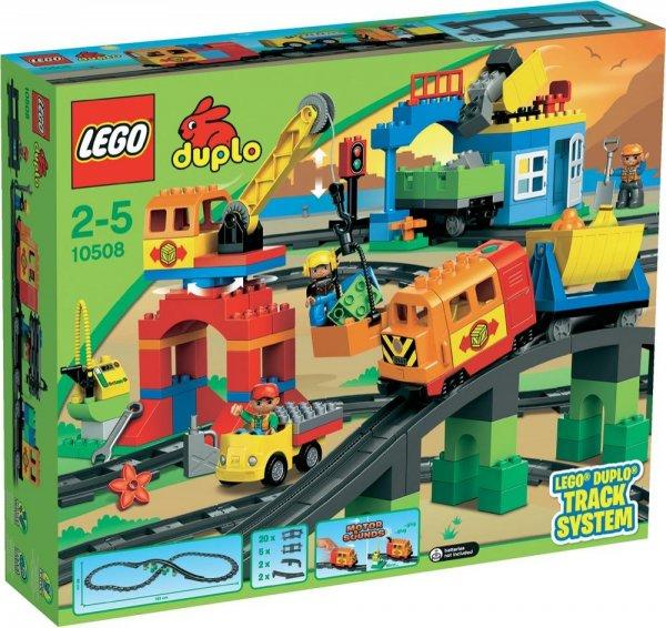 Lego Duplo - Eisenbahn Super Set 10508 Versandkostenfrei für 79,99€ @ smdv