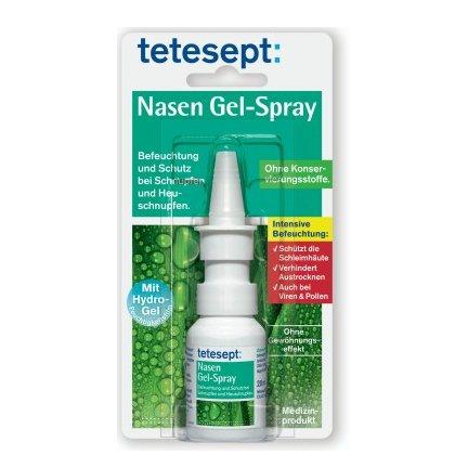 [SCHUM 1€-SHOP] Tetesept Nasen Gel-Spray 20ml für 1,00€ (Idealo: 4,29€)