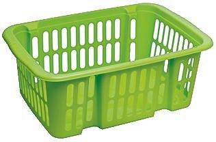[ROSSMANN evtl. bundesweit] Green Label: Abverkauf Flink & Sauber Drehstapelkorb (groß, versch. Farben) für 0,90 € bzw. 0,81 € (Green Label + 10% Rossmann Coupon)