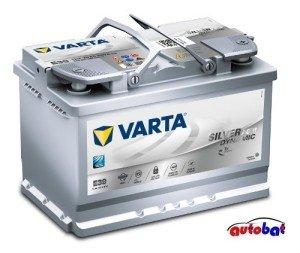 VARTA Batterie Start-Stop Plus E39 12V 70AH