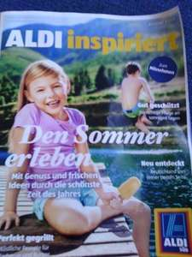 Aldi süd: Gratisprobe Sonnenschutz in Aldi inspiriert (Ausgabe 3/2015)