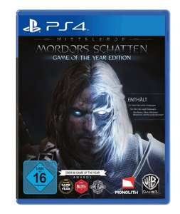 @Amazon: Mordors Schatten - Game of the Year Edition (Playstation 4 / XBox One) für 35,97€