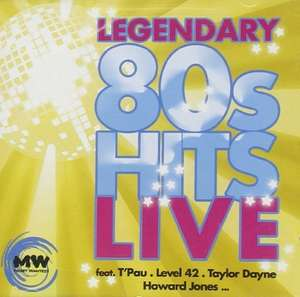 Amazon Prime : CD Sampler - Legendary 80s Hits-Live   u.a. Level 42, T'pau , Dionne Warwick für  1,69 €