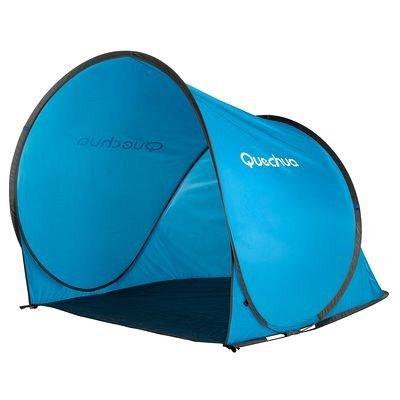 Quechua Strandmuschel Schutzzelt Zelt blau, 21,85 EUR @ decathlon.de