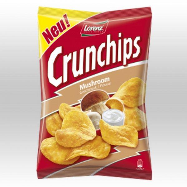 """[SCHUM 1€-SHOP] Lorenz Crunchips """"Mushroom Flavor"""" 175g für 1,00€"""