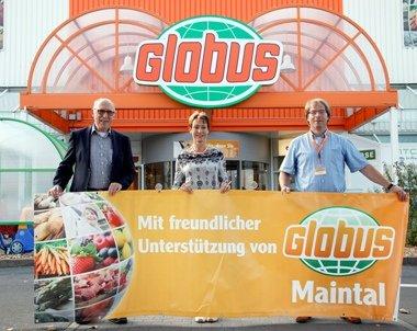 [GLOBUS MAINTAL] Kostenlose Baby Kuscheldecke 100x100cm (Babyclub-Mitglieder)