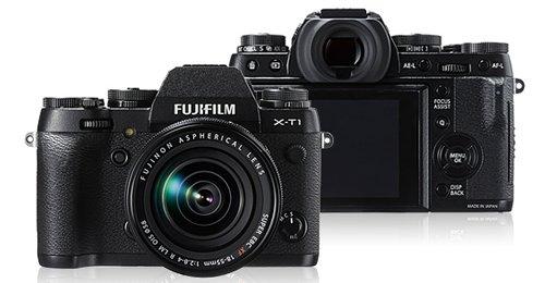 Fujifilm X-T1 + Fujinon X Cashback bis 200 Euro z.B. X-T1 + 18-135 Kit für