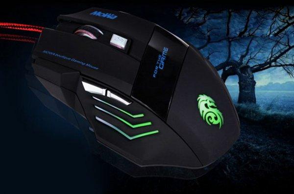 3200 DPI 6D LED optisch USB Wired Gaming Game Maus Mäuse For PC Laptop Beliebt
