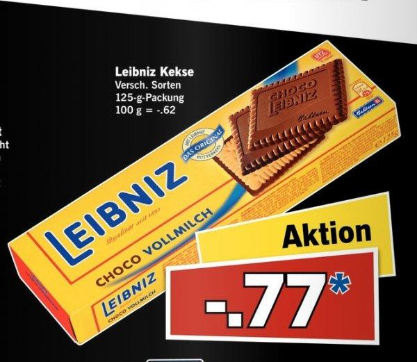 [Vorankündigung Lidl am 11.07] Leibniz Kekse verschiedene Sorten..je 125g Packung für 0,77€