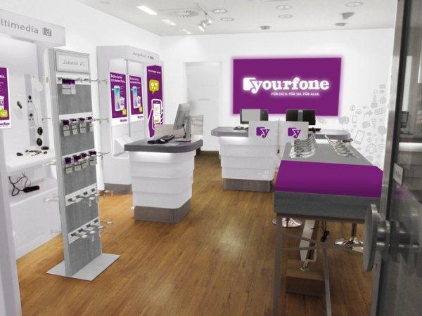 Yourfone Handy Shops mit 6 Monate kostenlos Tarifen