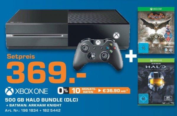 Xbox One + Arkham Knight + Halo [Lokal/Solingen]