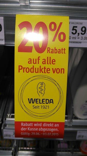 [Lokal? Bremen] Weleda Duschen 200ml durch 20% & Coupies