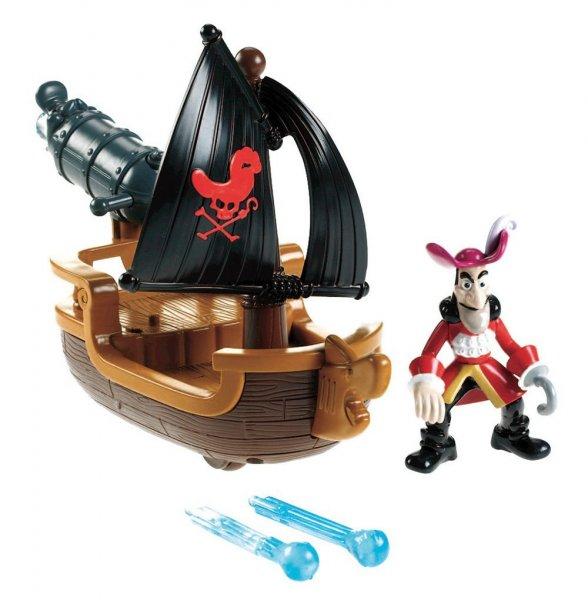 @Amazon Prime: Mattel Fisher-Price W5264 - Jake und die Nimmerland Piraten Hooks Kanonenboot für 12,73€ / Idealo ab 20,00 Euro