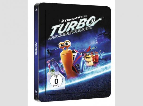 (Saturn.de) Turbo - Kleine Schnecke, großer Traum (3D, Exlusive Steelbookedition) für 16,99 EUR