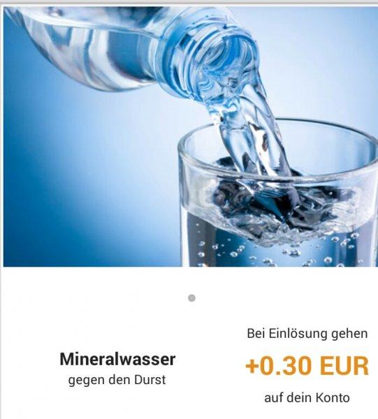 [Reebate] 0,30 € Cashback beim Kauf einer Flasche Mineralwasser | 0,50 € beim Kauf einer Flasche Pepsi | bis zu 0,30 € Gewinn möglich