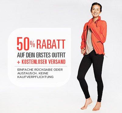 Fablatics Outfit für 25 Euro