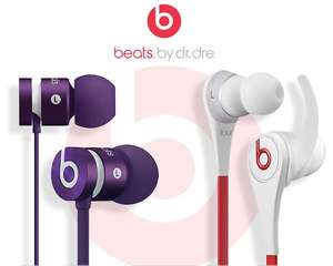 [online] BEATS BY DR DRE IN-?EARS - UrBeats Lila 51,90 € und Tour 2.0 Weiss 76,90 €
