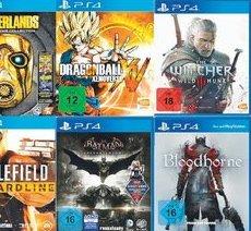 [MediaMarkt Backnang bei Stuttgart] PS4 Games für 39€ u.a. The Witcher 3, Bloodborne, Project Cars, Batman: Arkham Knight