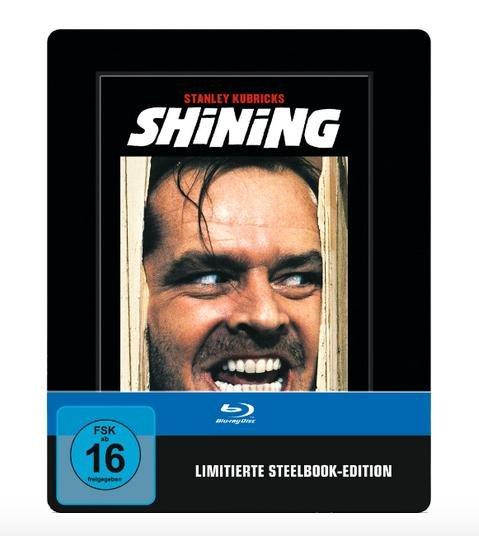 Shining [Limited Steelbook Edition] (Uncut) [Blu-ray] für 9,99€ @Saturn