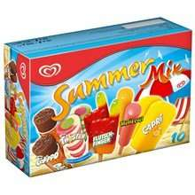 Langnese Summer Mix, Happy Mix, Dolomiti und Flutschfinger Eis 2€ statt 3€ [LIDL BUNDESWEIT]