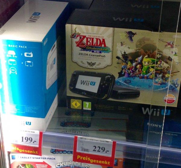 [lokal Trier] Wii U 32GB Premium Zelda WindWaker Edt.