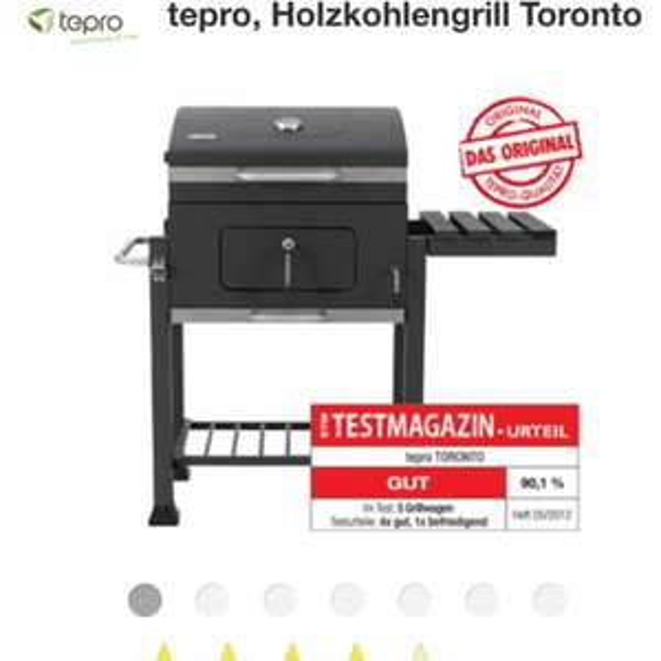 Tepro Toronto Holzkohlegrill