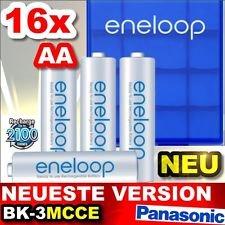 [Allyouneed] 16x Panasonic Eneloop AA BK-3MCCE (neueste Version) + 4x Akkubox + 4x AA Sony für 25,62€