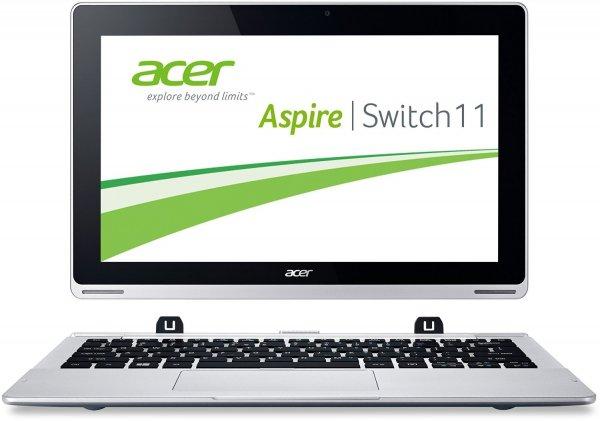 [Blitzangebot Amazon] Acer Aspire Switch 11 SW5-111 11,6 Zoll HD silber für 299€
