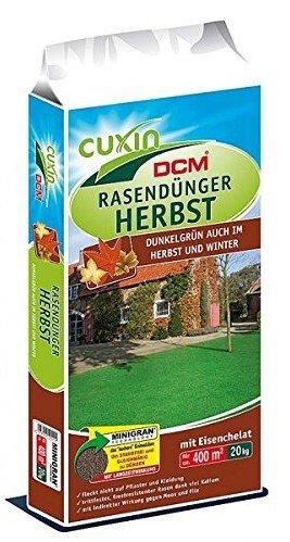 Cuxin Rasendünger Herbst 20kg für unter 35€ zu haben
