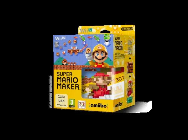 Super Mario Maker inkl. amiibo Figur Wii U MM mit Preisgarantie