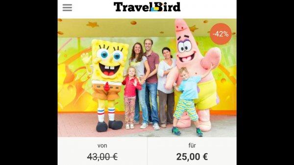 Tageseintritt für den moviepark inkl. Hamburgermenü für 26,95 Euro bei Travelbird