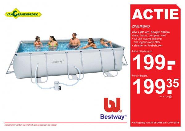 [Lokal: Niederlande und Belgien] Bestway-Pool für 199€ (Idealo 285)