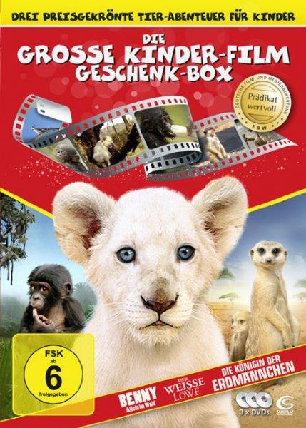 [Amazon.de/Prime] Die große Kinderfilm-Geschenk-Box (DVD 5,97€ , Blu-ray 7,97€, 3D 11,97€)