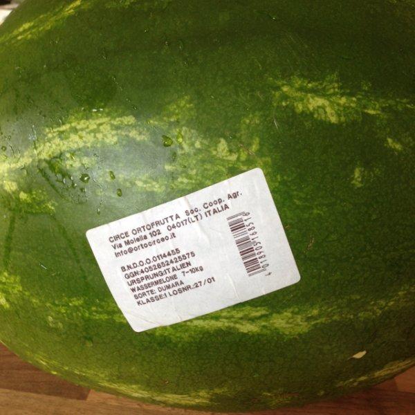 Ital.  Wassermelone
