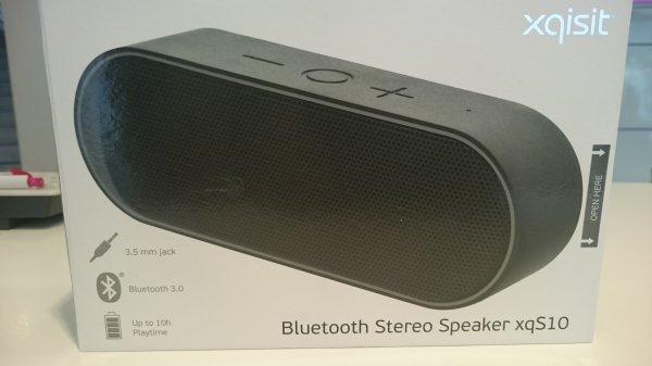 [Lokal Düsseldorf] xqisit Bluetooth Stereo Speaker xqS10