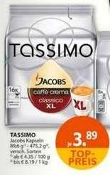 [Müller]  Tassimo Jacobs - Kapseln             3,89 Euro