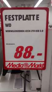 WD Elements 3TB 88€ lokal Feuerbach
