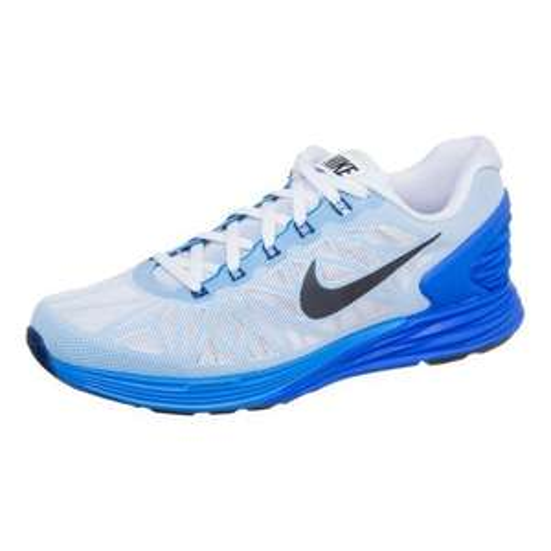 Nike Lunarglide+ 6 Herrenlaufschuh weiß/blau bei cortexpower.de für 59,50