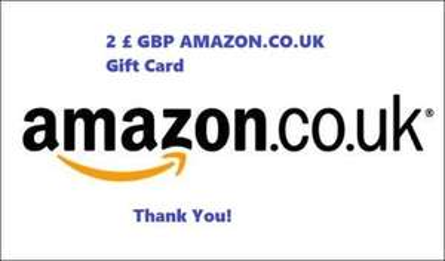 [eBay] 2 £  AMAZON.CO.UK Gutschein für  £1,00